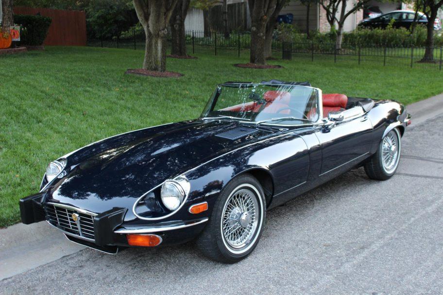 Original-Owner 1974 Jaguar XKE Roadster V12 4-Speed