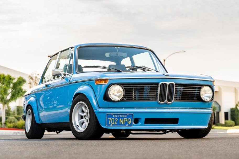 M42-Powered 1975 BMW 2002 5-Speed