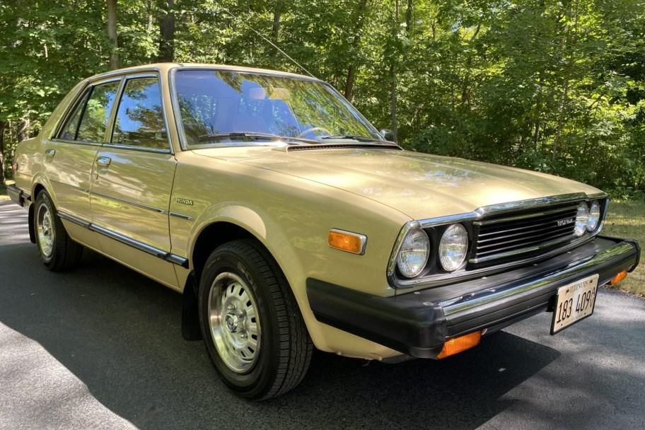 No Reserve: 1980 Honda Accord 5-Speed