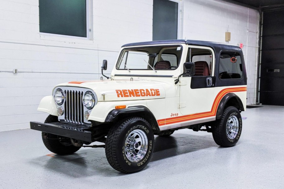 1985 Jeep CJ-7 Renegade 4x4 5-Speed