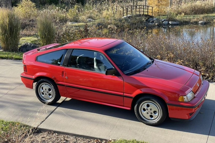 No Reserve: 1987 Honda CRX Si 5-Speed