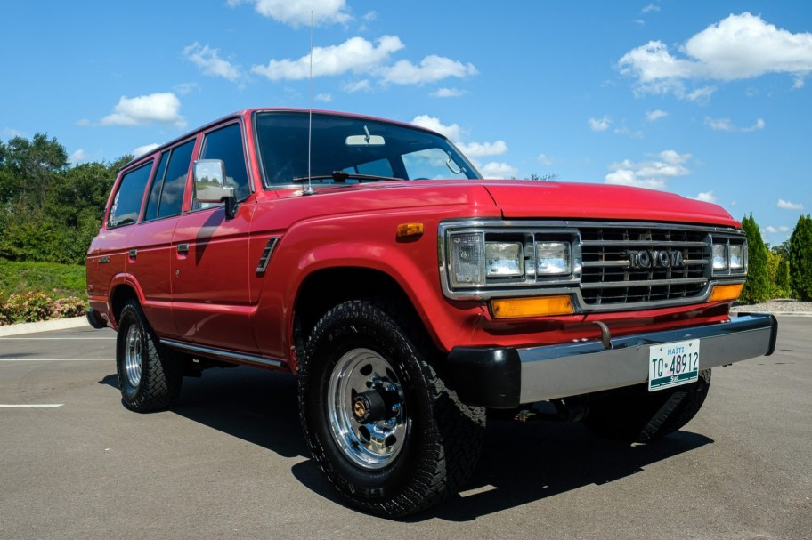1989 Toyota Land Cruiser FJ62 4-Speed