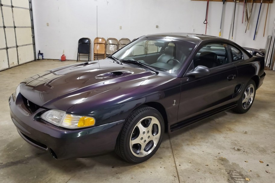 No Reserve: 5k-Mile 1996 Ford Mustang SVT Cobra 5-Speed