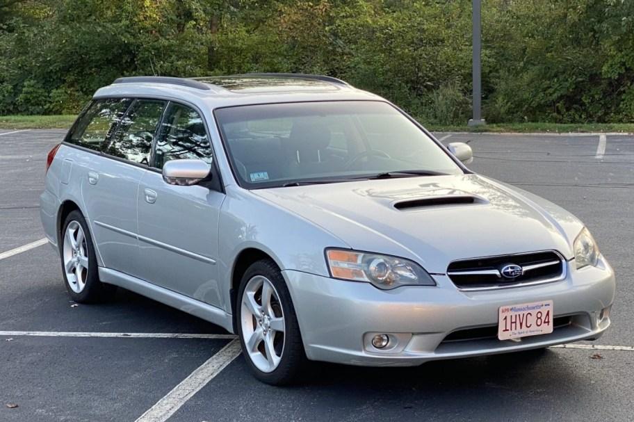 No Reserve: Modified 2005 Subaru Legacy 2.5GT Wagon 5-Speed