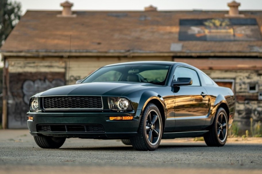 8k-Mile 2008 Ford Mustang Bullitt 5-Speed