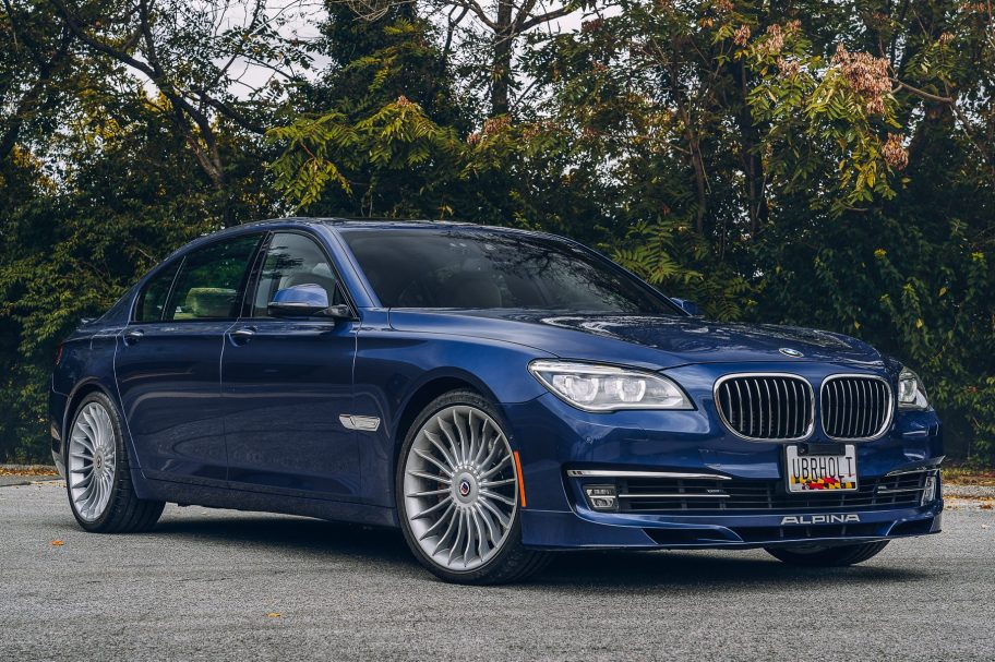 No Reserve: 2013 BMW Alpina B7 xDrive