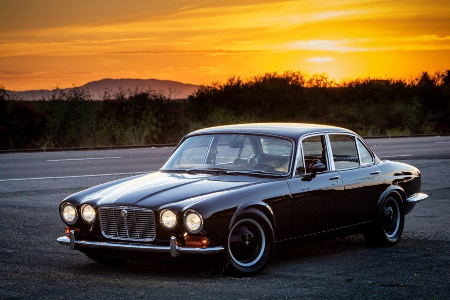 Chevy 307–Powered 1973 Jaguar XJ6