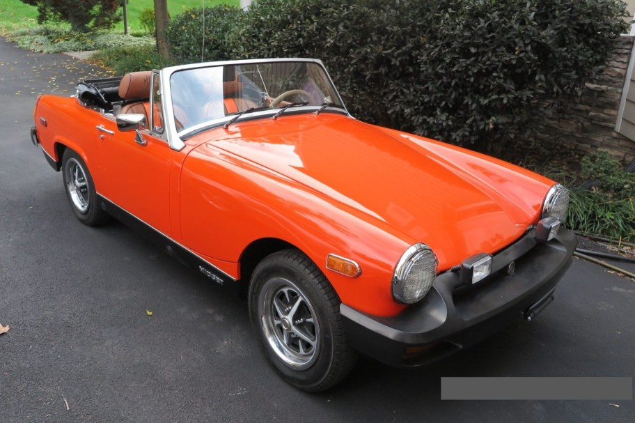 No Reserve: 1978 MG Midget