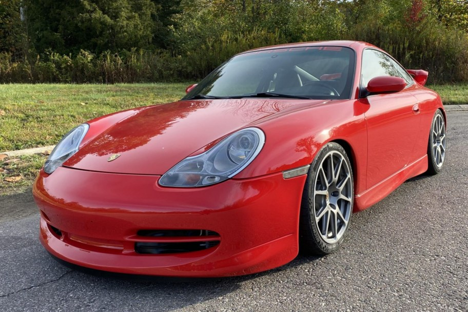 31k-Mile 2001 Porsche 911 Carrera Coupe 6-Speed