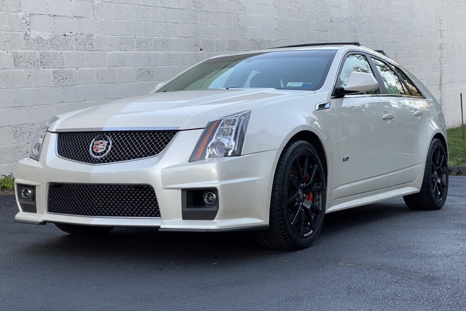 23k-Mile 2013 Cadillac CTS-V Wagon 6-Speed