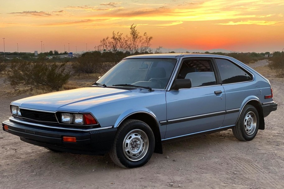 No Reserve: 1983 Honda Accord LX Hatchback