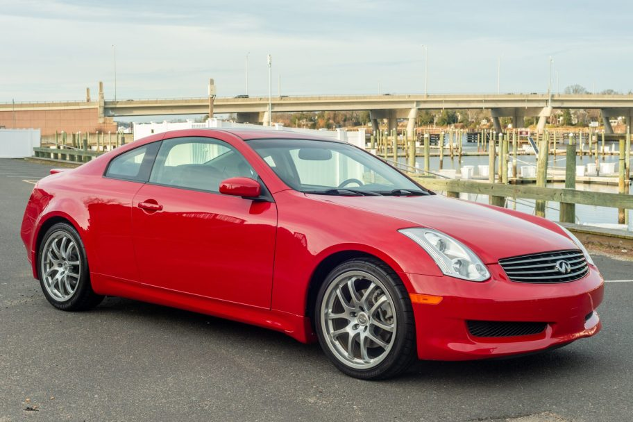 32k-Mile 2007 Infiniti G35 Coupe 6-Speed