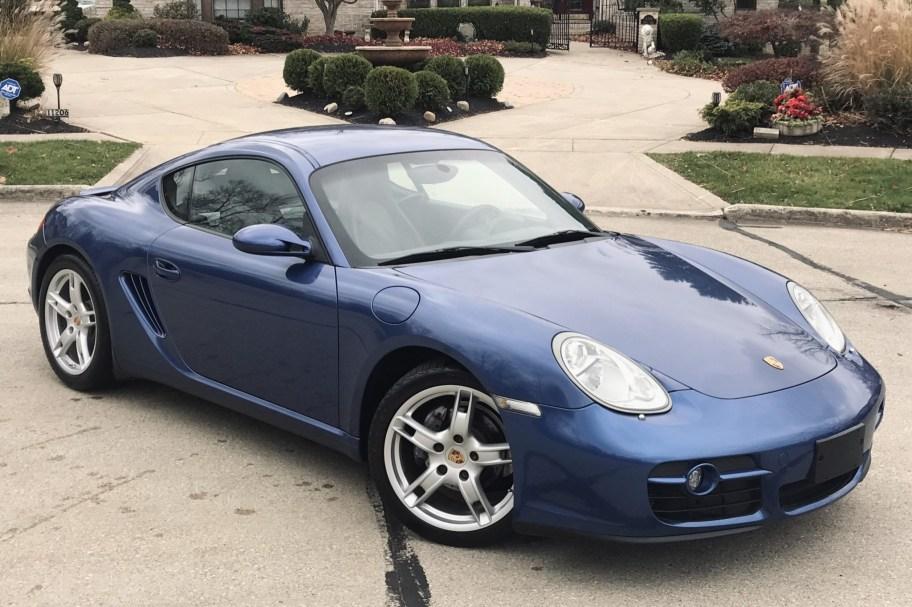 No Reserve: 2007 Porsche Cayman 6-Speed