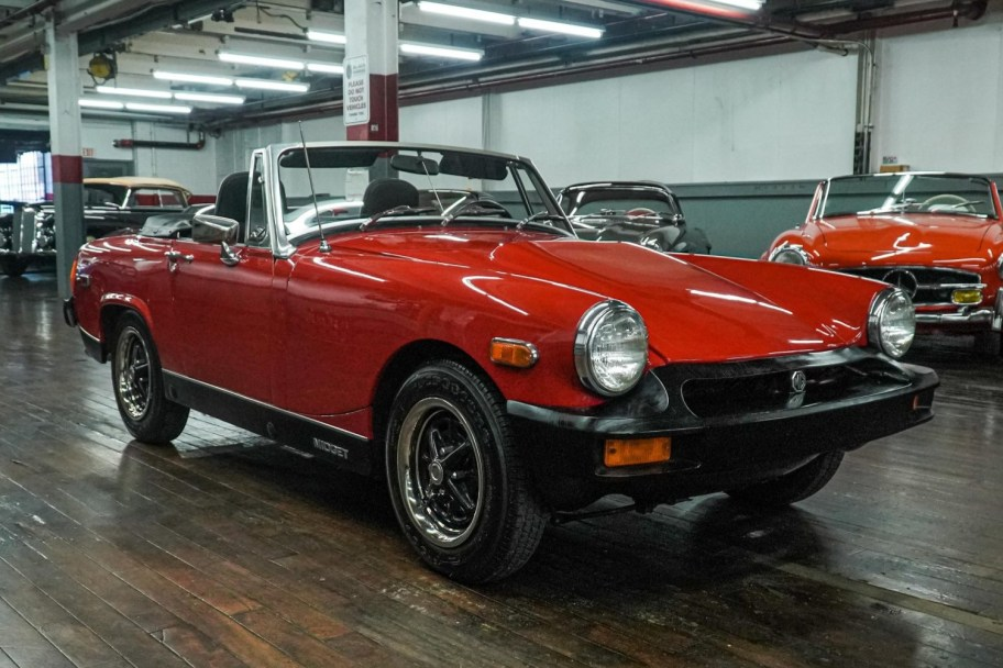 S2000-Powered 1975 MG Midget 6-Speed