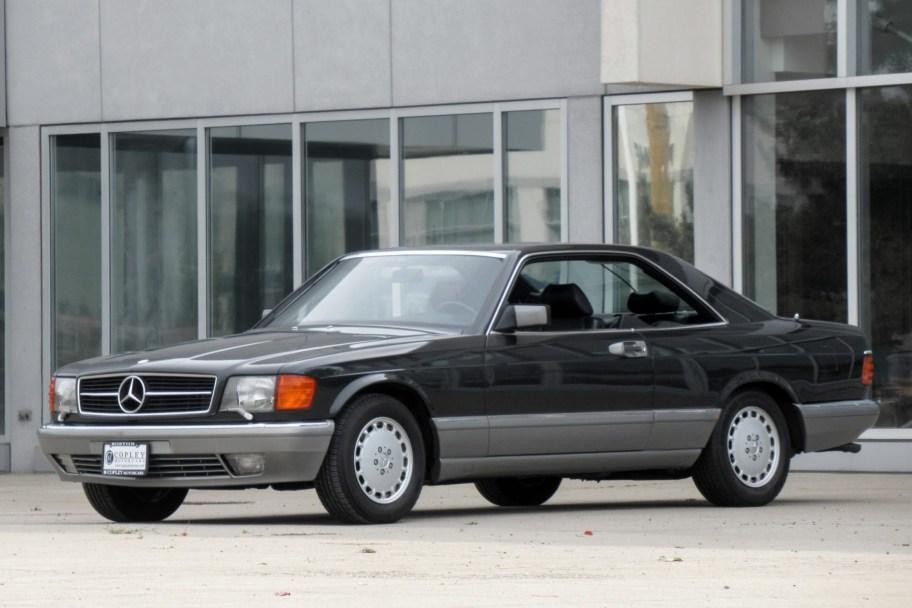 No Reserve: 18k-Mile Euro 1987 Mercedes-Benz 560SEC