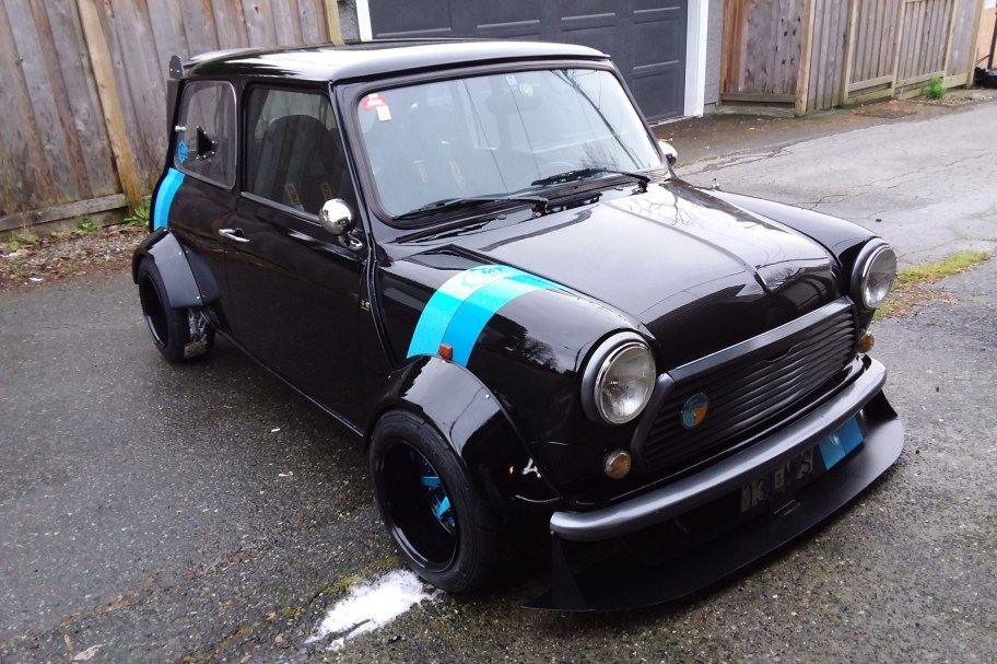 ZX10R-Powered 1990 Rover Mini Mk IV