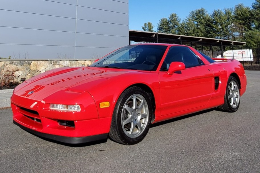 26k-Mile 1995 Acura NSX-T 5-Speed