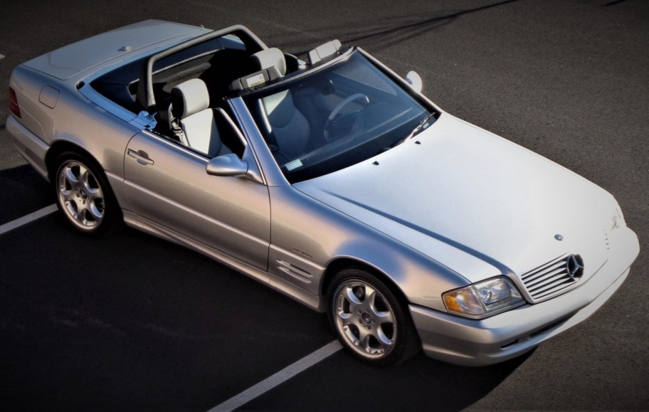 32k-Mile 2002 Mercedes-Benz SL500 Silver Arrow