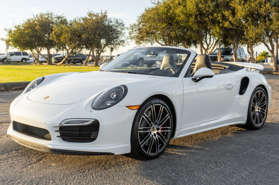 6k-Mile 2016 Porsche 911 Turbo Cabriolet