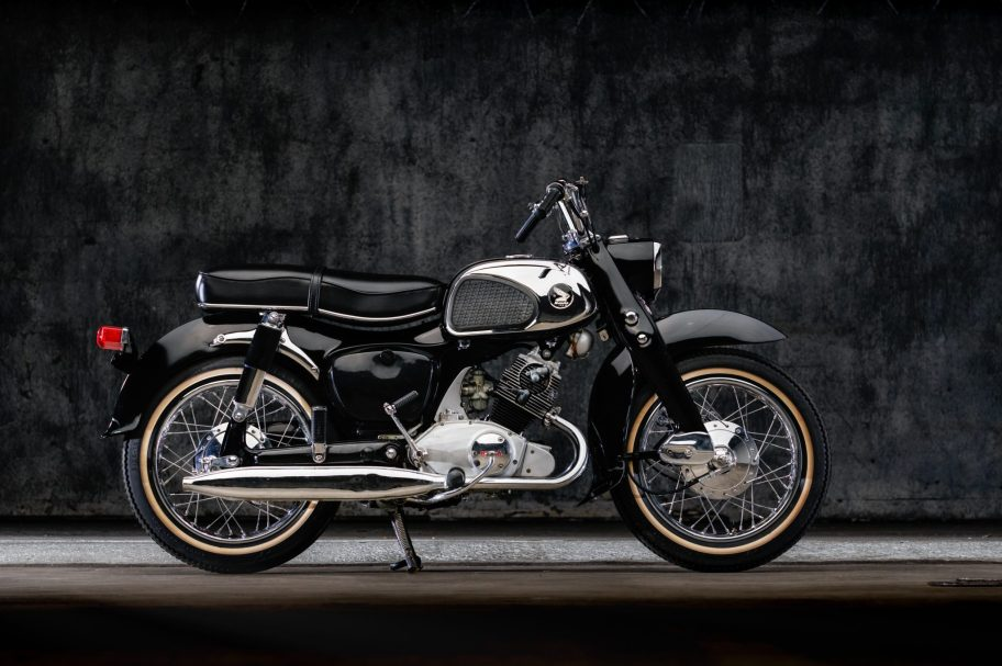No Reserve: 1963 Honda CA95 Benly