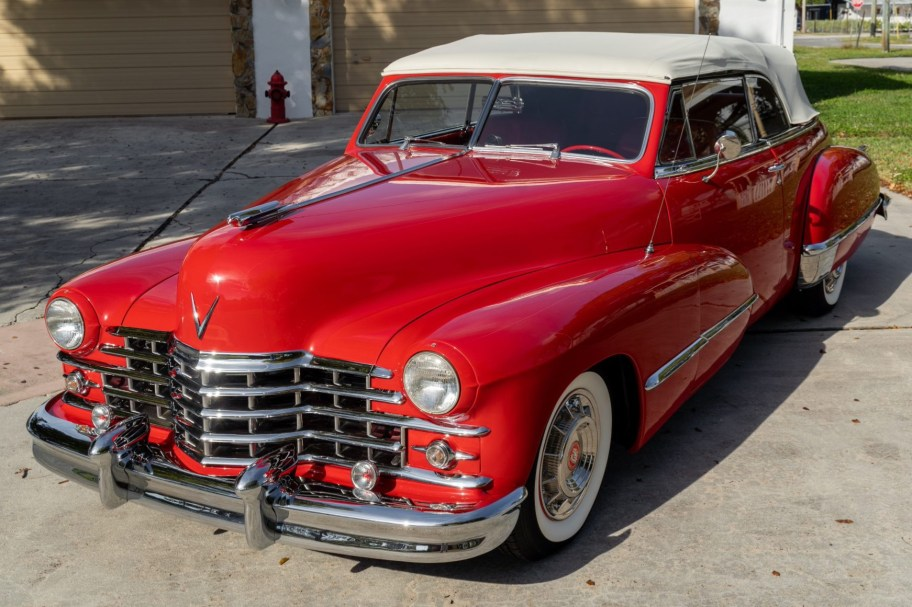 350-Powered 1947 Cadillac Series 62 Convertible
