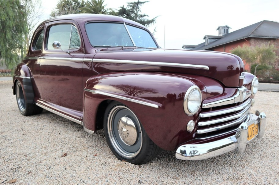432ci-Powered 1948 Ford Super Deluxe Coupe