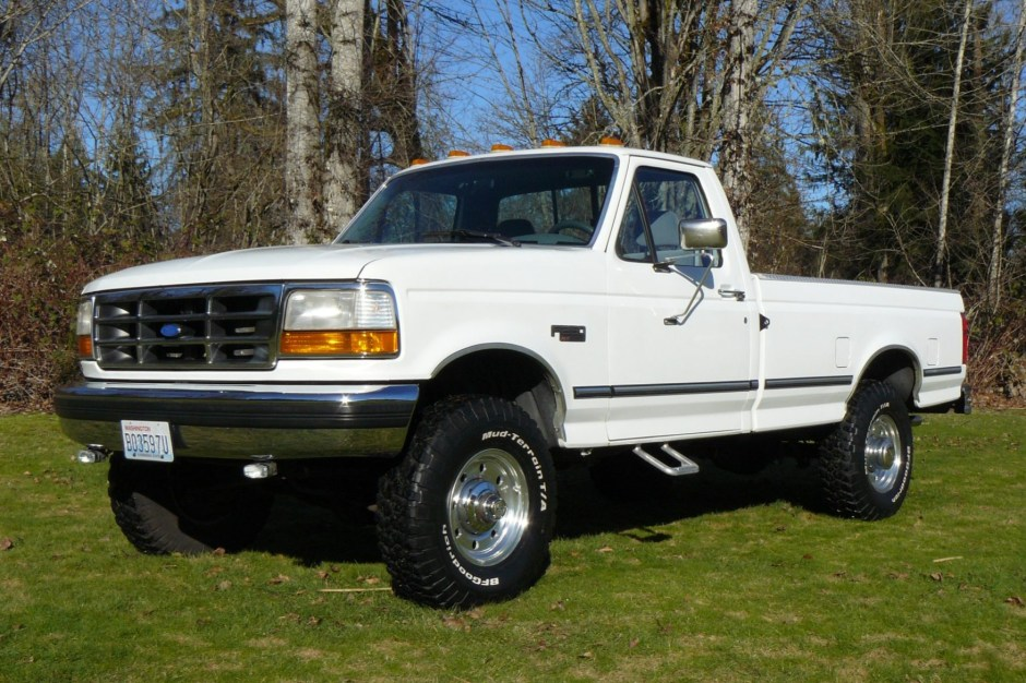 no reserve 1994 ford f 250 xlt 4 4