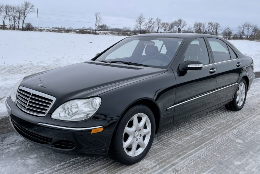 No Reserve: 2006 Mercedes-Benz S500 4Matic