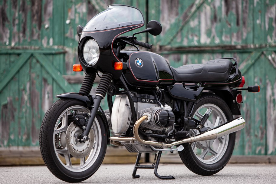 No Reserve: Modified 1985 BMW R80RT Monolever