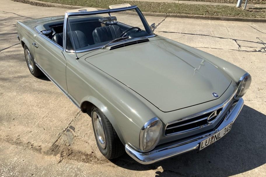 No Reserve: 1966 Mercedes-Benz 230SL