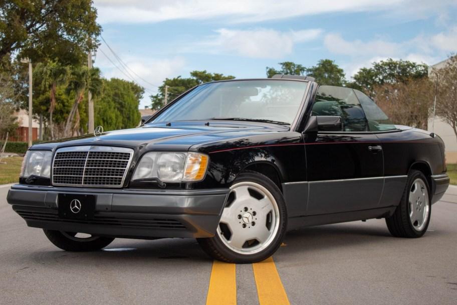 No Reserve: 22k-Mile 1994 Mercedes-Benz E320 Cabriolet