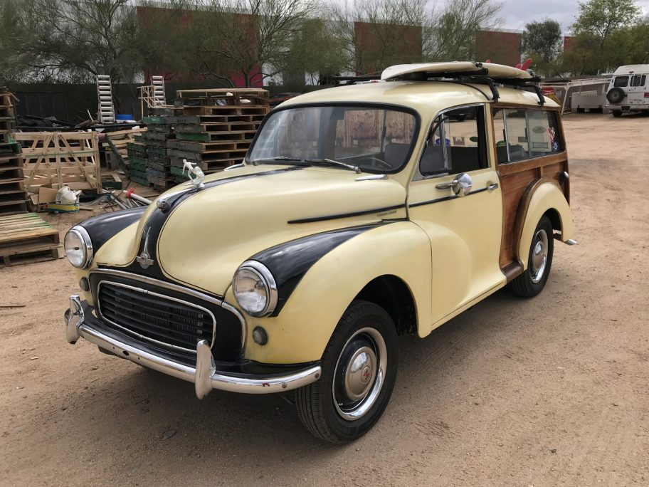 No Reserve: Toyota-Powered 1959 Morris Minor Traveller Woody