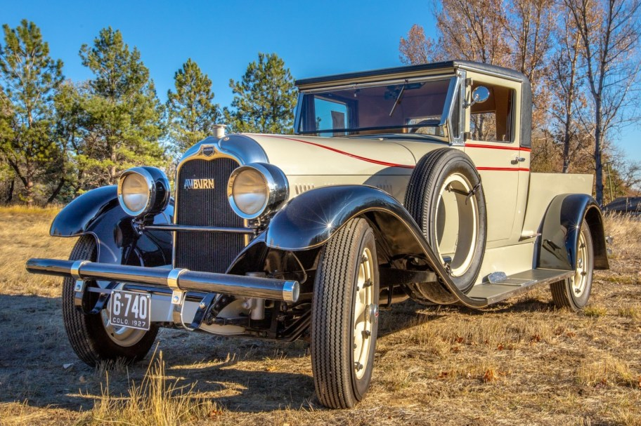 23-Years-Owned 1927 Auburn 8-88 Service Truck Conversion