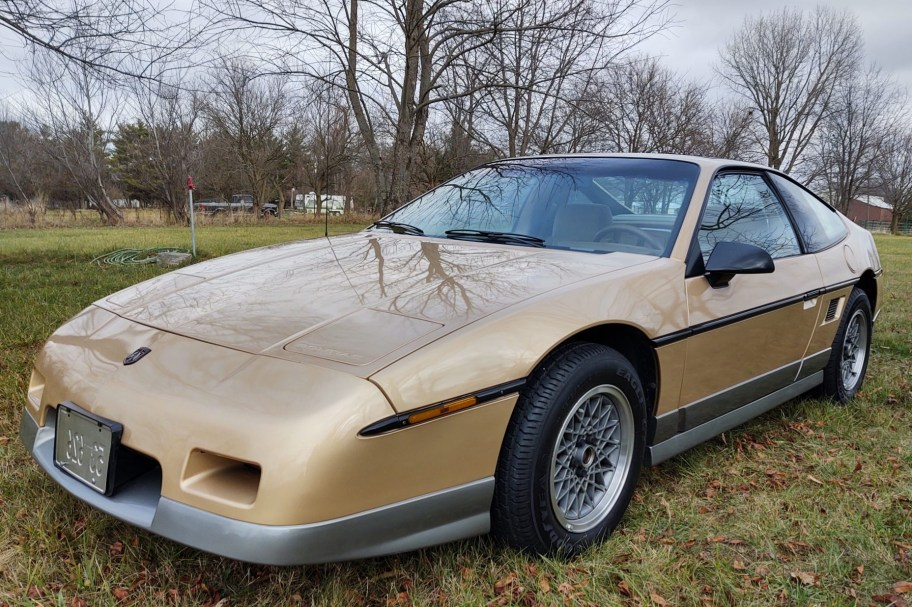No Reserve: 33-Years-Owned 1986 Pontiac Fiero GT