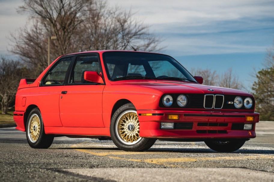 52k-Mile 1988 BMW M3