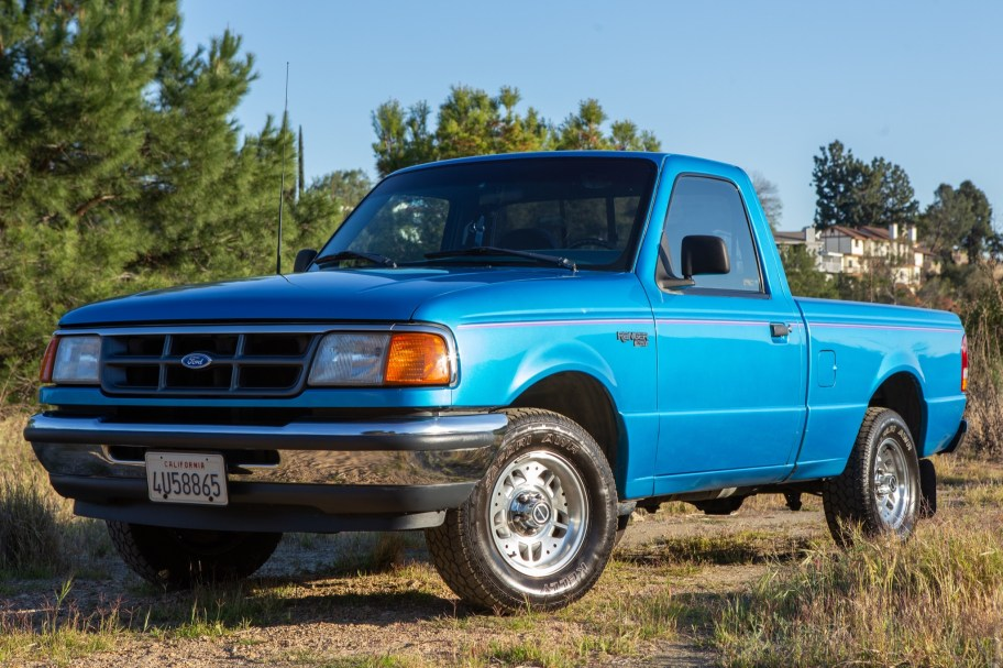 No Reserve: 1993 Ford Ranger XLT 5-Speed