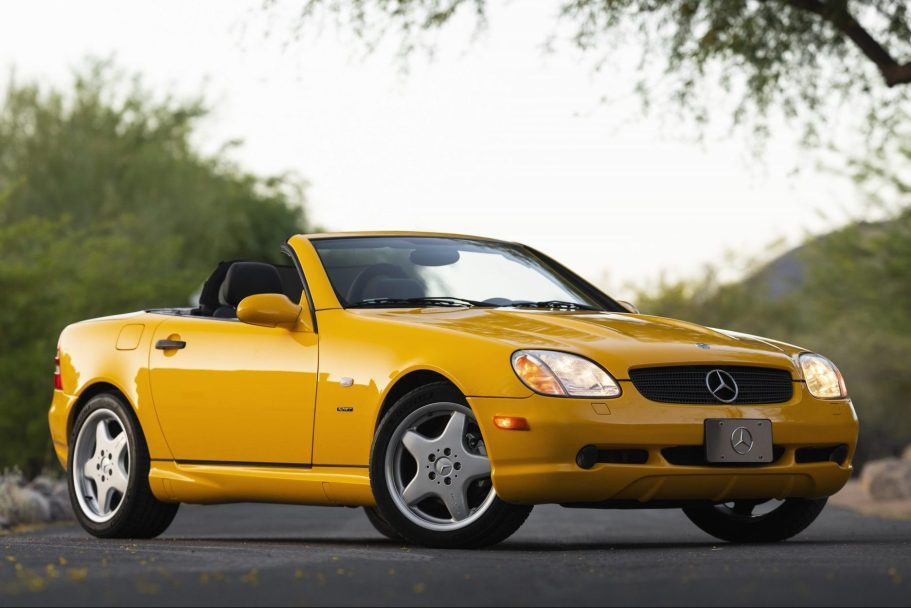 No Reserve: 25k-Mile 1999 Mercedes-Benz SLK230 Kompressor 5-Speed