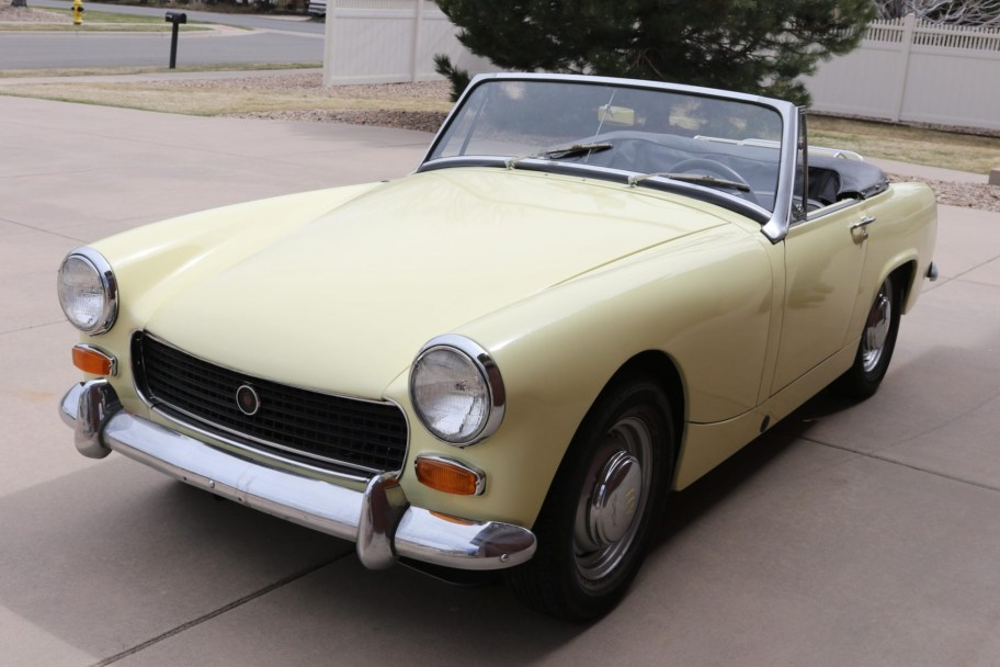 No Reserve: 1968 Austin-Healey Sprite Mark IV