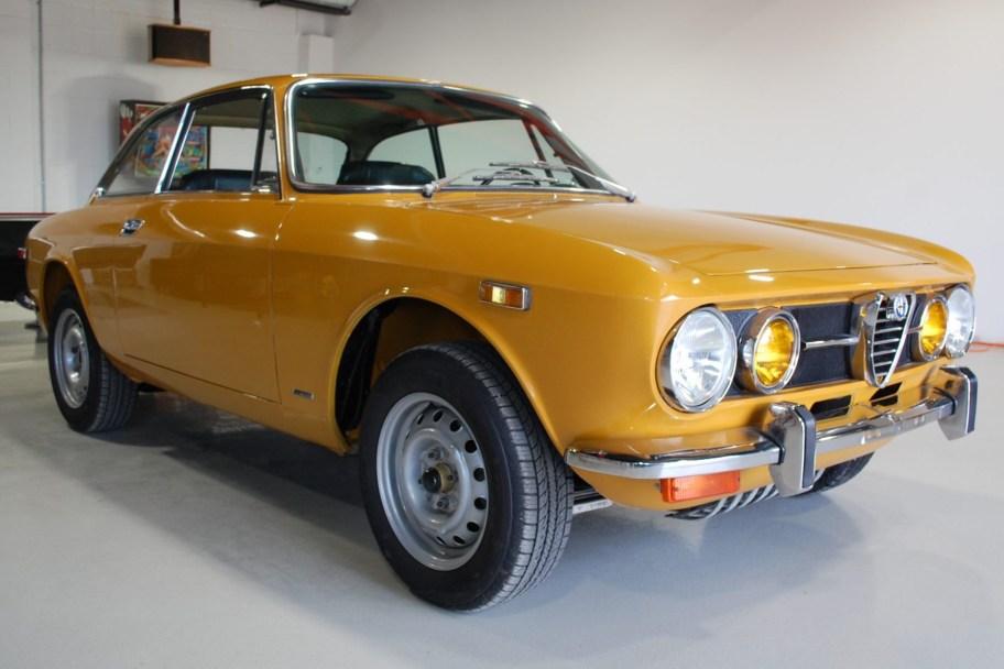 No Reserve: 1971 Alfa Romeo GTV 1750