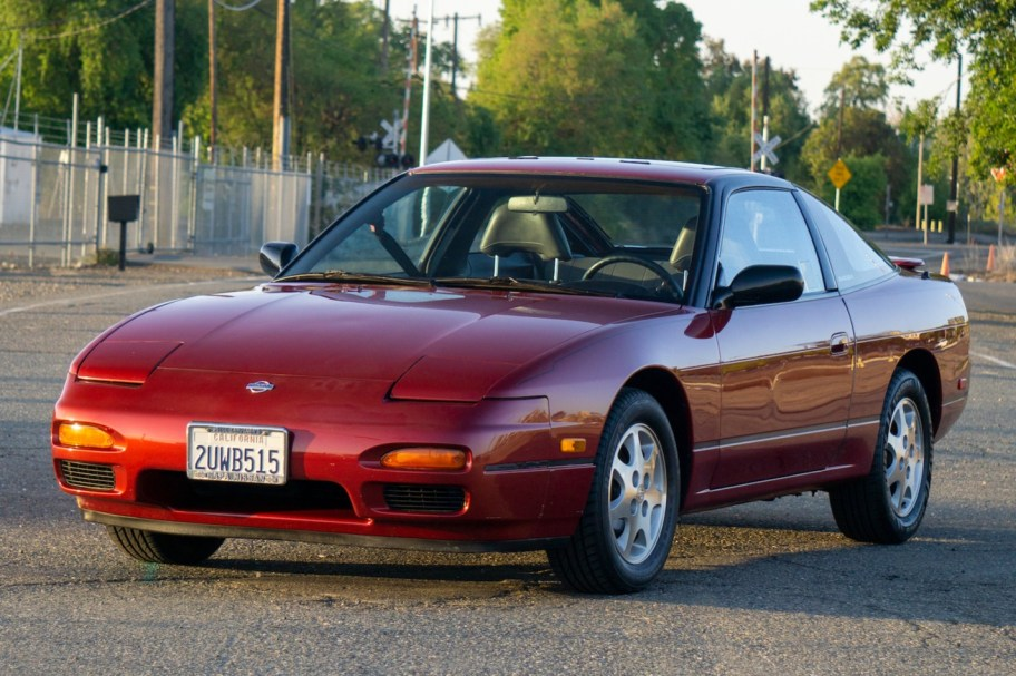 No Reserve: 1991 Nissan 240SX LE 5-Speed