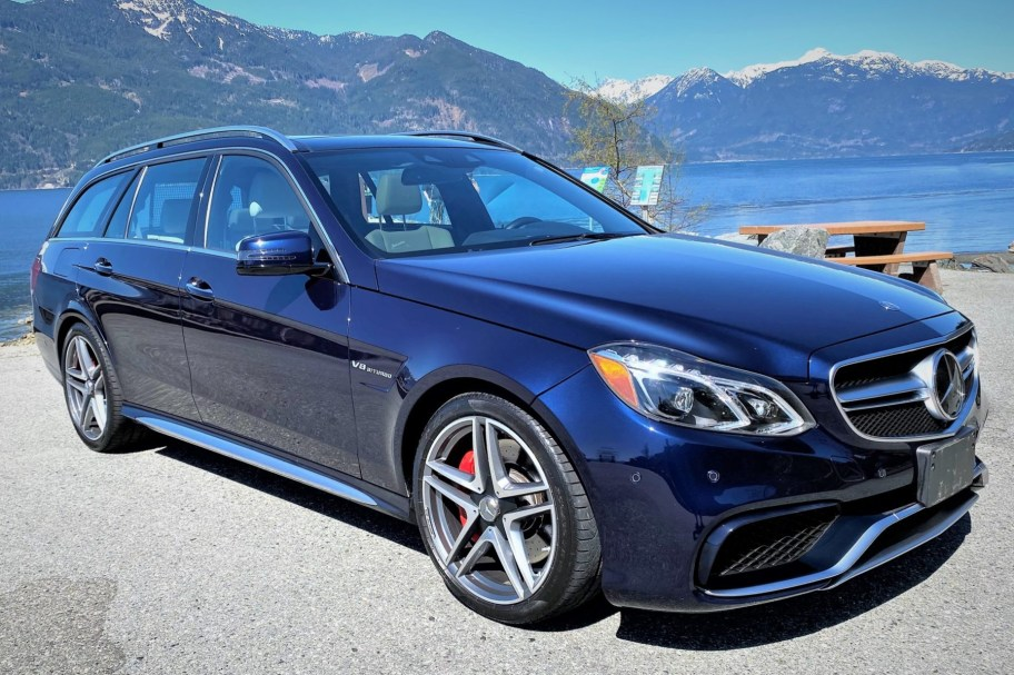 One-Owner 2016 Mercedes-AMG E63 S 4MATIC Wagon