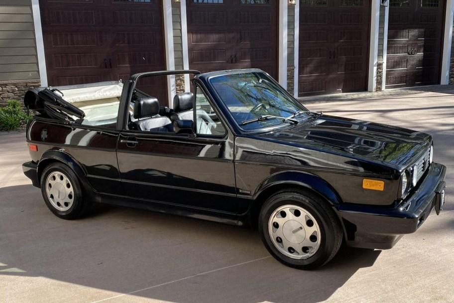No Reserve: 1992 Volkswagen Cabriolet Carat