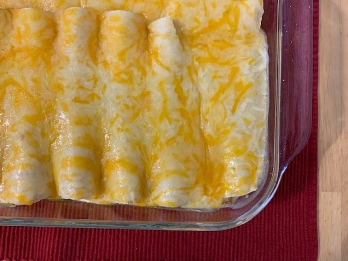 Easy Chicken Enchiladas Recipe Bringing Back The Peace