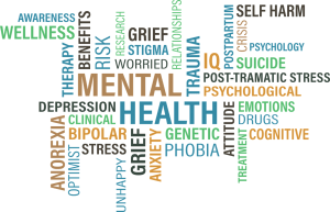 Mental health comes in many forms