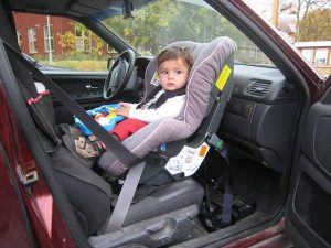 It's important to consider child seat requirements, even abroad