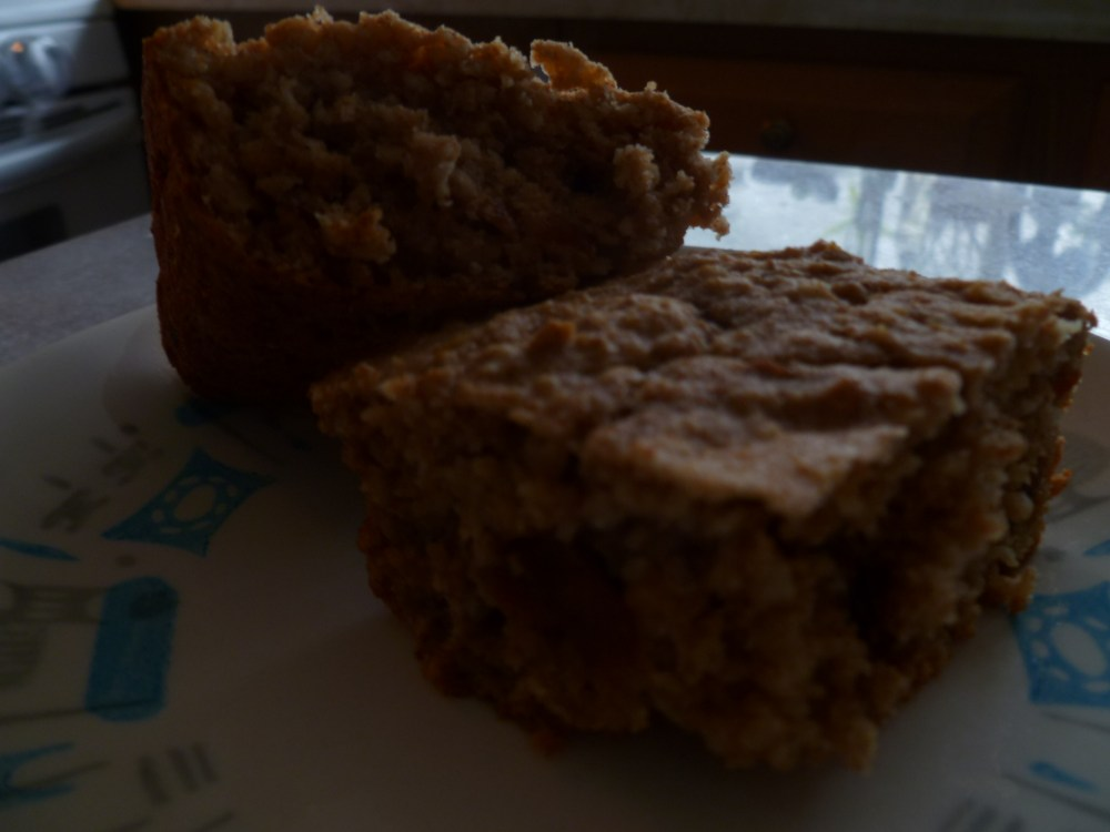 Oatmeal Bars, Perfect for Self Feeding