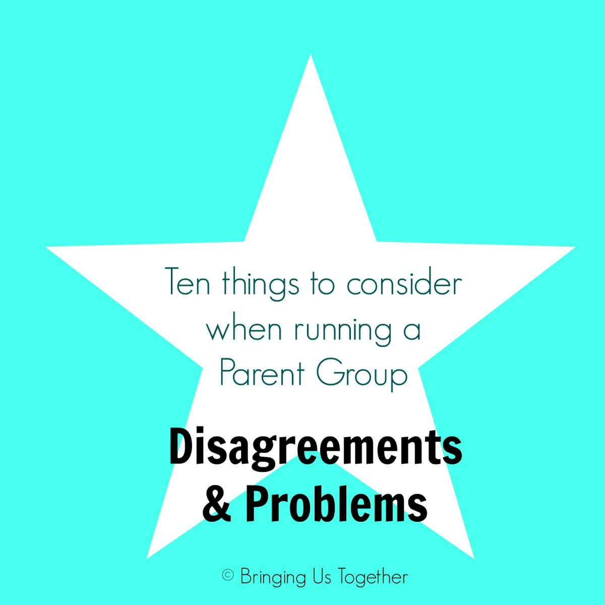 Parent Groups - Disagreements and problems