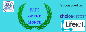 BAPS of the Month Sponsors - January