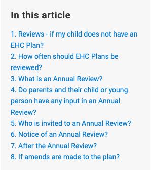 Screenshot of Reviews in Survival Guide