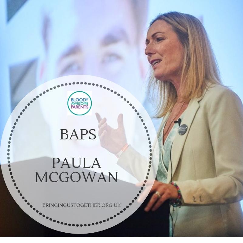 BAPS:  Paula McGowan